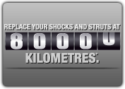 MONROE SHOCKS & STRUTS: 80,000km交換